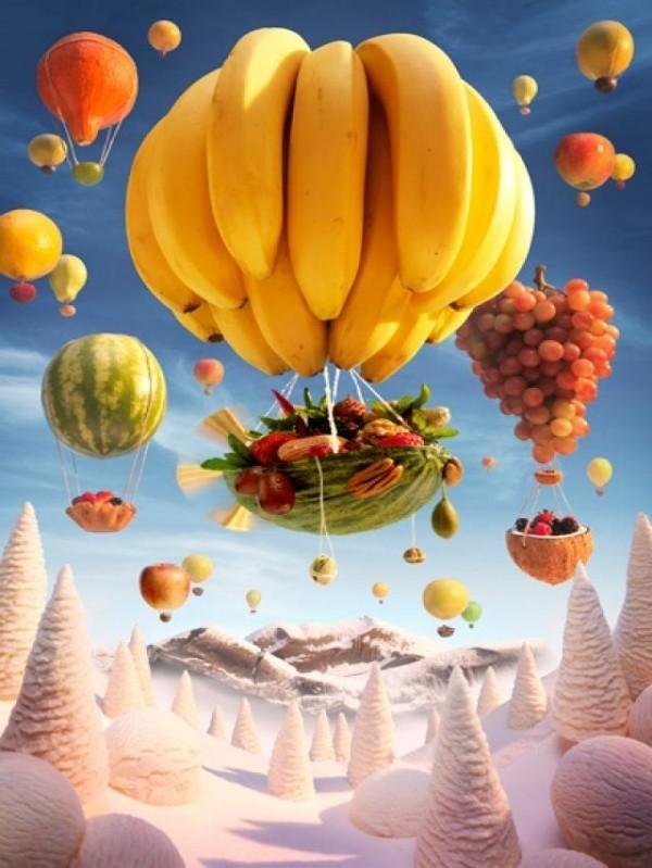 Ngỡ ngàng trước bức tranh phong cảnh làm từ thực phẩm - anh 5