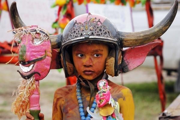 Độc đáo lễ hội đua trâu náo nhiệt ở Thái Lan - anh 9