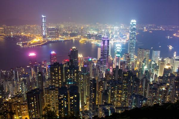Đẹp ngỡ ngàng 3 điểm chụp ảnh Hong Kong về đêm - anh 1