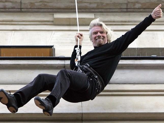 Những quy tắc tạo thành công của tỷ phú kỳ dị Richard Branson - anh 1