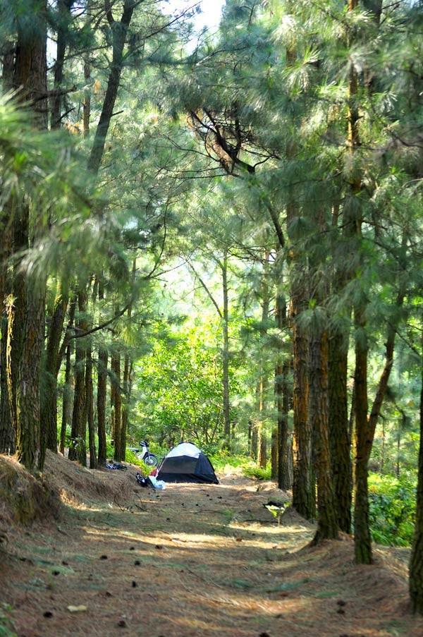 Những địa điểm cắm trại gần Hà Nội lý tưởng cho 2 ngày cuối tuần - anh 1