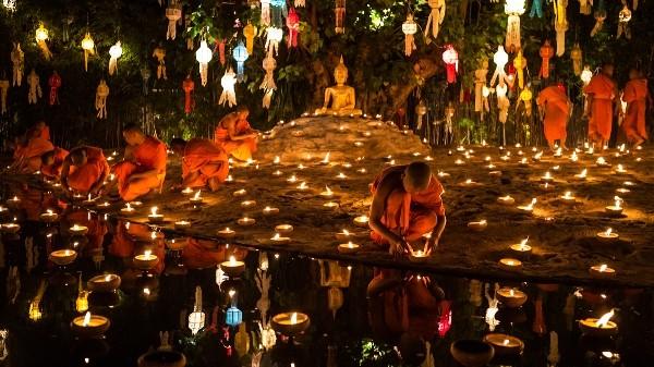 Lung linh lễ hội Loy Krathong tại đất nước chùa tháp - anh 3