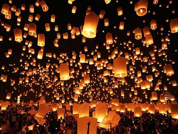 Lung linh lễ hội Loy Krathong tại đất nước chùa tháp - anh 5