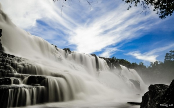 Ngất ngây trước thác nước đẹp nhất Đông Dương - anh 1
