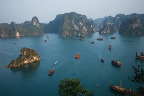 Vịnh Hạ Long lọt top 8 không gian xanh tốt nhất châu Á - anh 5