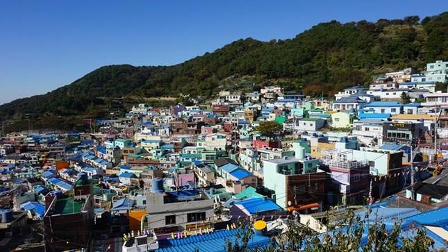 Ngỡ ngàng ngắm ngôi làng đậm chất nghệ thuật ở Hàn Quốc - anh 11