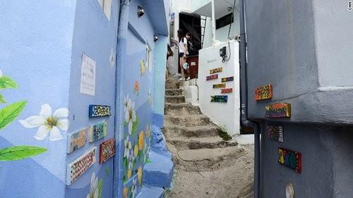 Ngỡ ngàng ngắm ngôi làng đậm chất nghệ thuật ở Hàn Quốc - anh 2