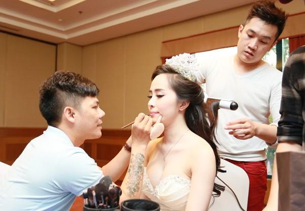 Cận cảnh tiệc cưới sang trọng của cặp đôi Quỳnh Nga - Doãn Tuấn - anh 12