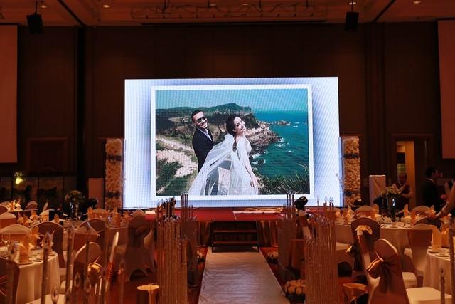Cận cảnh tiệc cưới sang trọng của cặp đôi Quỳnh Nga - Doãn Tuấn - anh 4