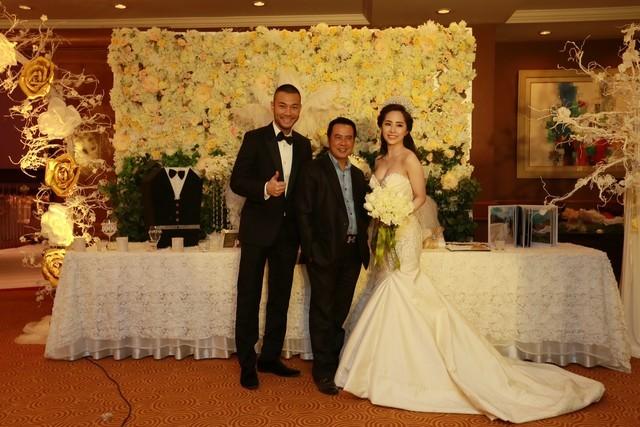 Cận cảnh tiệc cưới sang trọng của cặp đôi Quỳnh Nga - Doãn Tuấn - anh 6