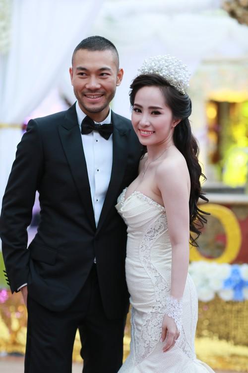 Cận cảnh tiệc cưới sang trọng của cặp đôi Quỳnh Nga - Doãn Tuấn - anh 9