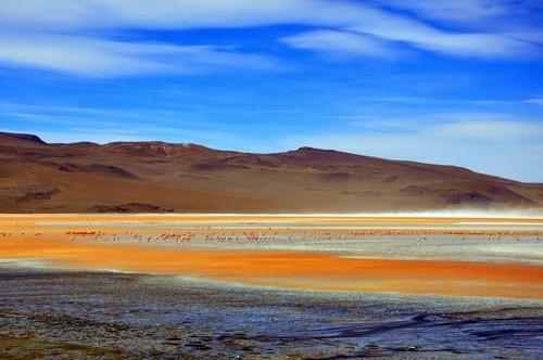 Ngỡ ngàng trước vẻ đẹp cuốn hút của hồ nước đỏ kỳ lạ nhất thế giới - anh 5