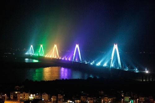 Khánh thành cầu Nhật Tân và 3 công trình trọng điểm - anh 1