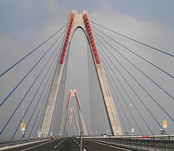 Khánh thành cầu Nhật Tân và 3 công trình trọng điểm - anh 2