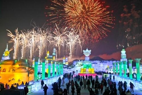 Mãn nhãn với lễ hội băng đăng rực rỡ ở Cáp Nhĩ Tân - Trung Quốc - anh 10