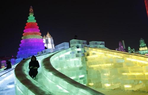 Mãn nhãn với lễ hội băng đăng rực rỡ ở Cáp Nhĩ Tân - Trung Quốc - anh 5