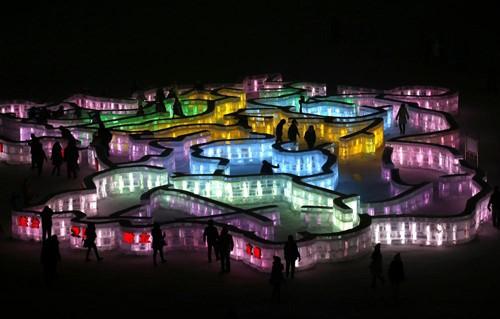 Mãn nhãn với lễ hội băng đăng rực rỡ ở Cáp Nhĩ Tân - Trung Quốc - anh 6