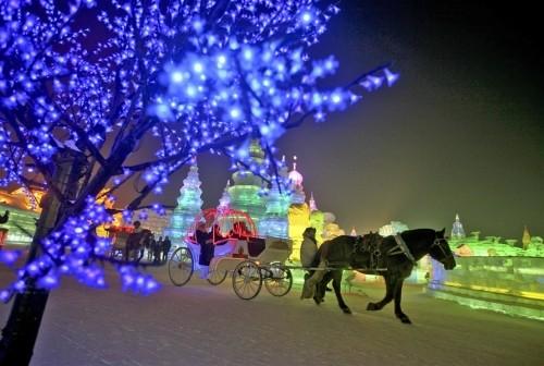 Mãn nhãn với lễ hội băng đăng rực rỡ ở Cáp Nhĩ Tân - Trung Quốc - anh 9