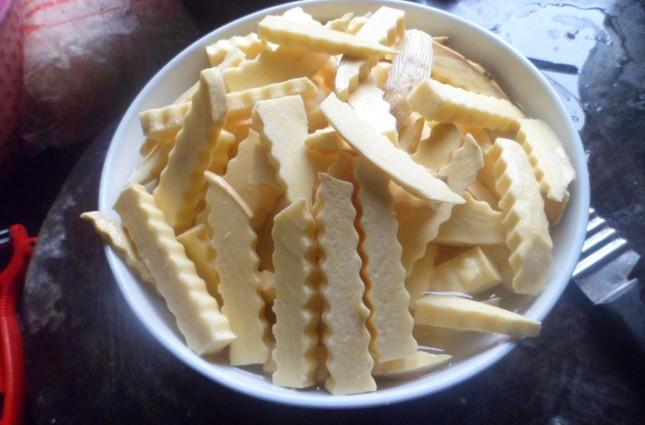 Cách làm mứt khoai lang ngọt bùi đón Tết - anh 2