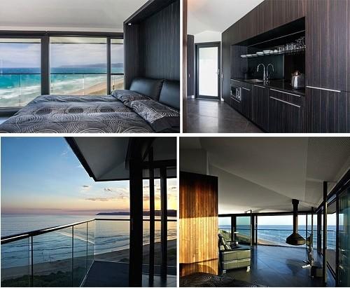 Độc đáo ngôi nhà một cột bên bờ biển Australia - anh 3