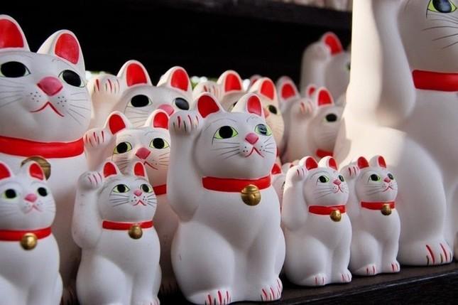 Khám phá ngôi đền của những chú mèo vẫy tay may mắn ở Nhật - anh 7