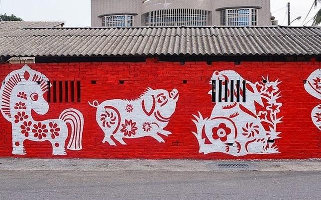 Khám phá ngôi làng hoạt hình siêu hút du khách ở Đài Loan - anh 1