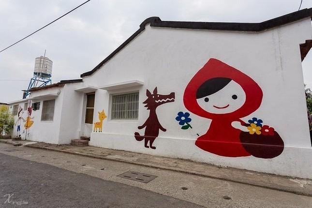 Khám phá ngôi làng hoạt hình siêu hút du khách ở Đài Loan - anh 3