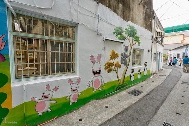 Khám phá ngôi làng hoạt hình siêu hút du khách ở Đài Loan - anh 5