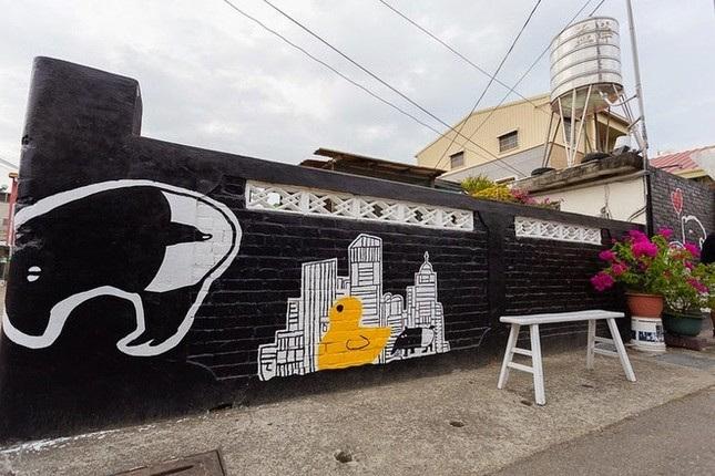 Khám phá ngôi làng hoạt hình siêu hút du khách ở Đài Loan - anh 7