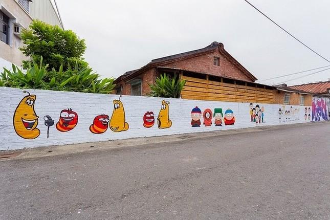 Khám phá ngôi làng hoạt hình siêu hút du khách ở Đài Loan - anh 8