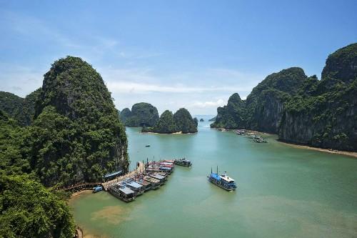 Vịnh Hạ Long lọt top di sản thiên nhiên nổi bật trên thế giới - anh 1