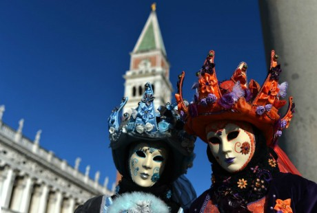 Ấn tượng với lễ hội hoá trang độc đáo ở Venice - anh 5