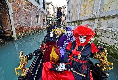 Ấn tượng với lễ hội hoá trang độc đáo ở Venice - anh 6