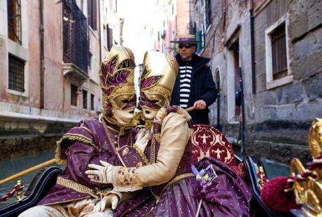 Ấn tượng với lễ hội hoá trang độc đáo ở Venice - anh 7