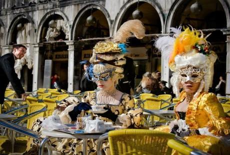 Ấn tượng với lễ hội hoá trang độc đáo ở Venice - anh 8