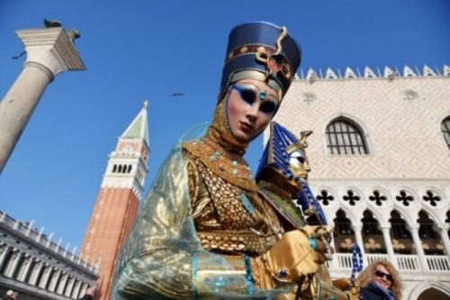 Ấn tượng với lễ hội hoá trang độc đáo ở Venice - anh 9