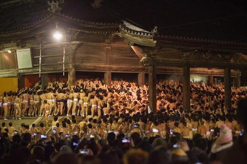 Đỏ mặt với lễ hội khoả thân Hadaka Matsuri ở xứ sở Phù Tang - anh 1