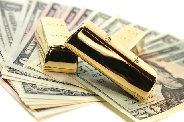 Giá vàng hôm nay 22/4: Giá vàng tăng mạnh trở lại - anh 1