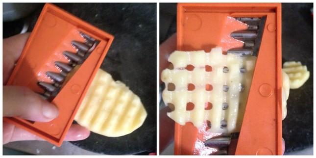 Cách làm bim bim lưới tuyệt ngon cho bé từ khoai tây - anh 2