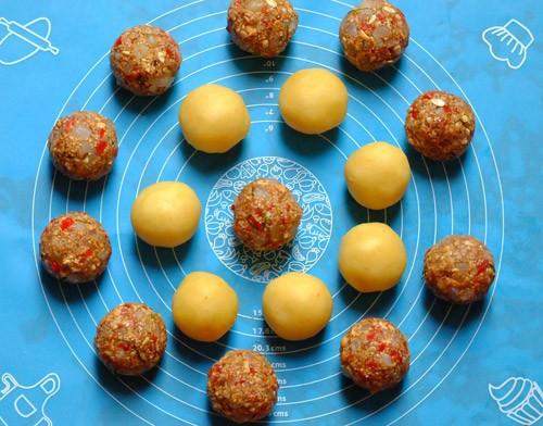 Cách làm bánh nướng nhân thập cẩm đón Trung thu - anh 2