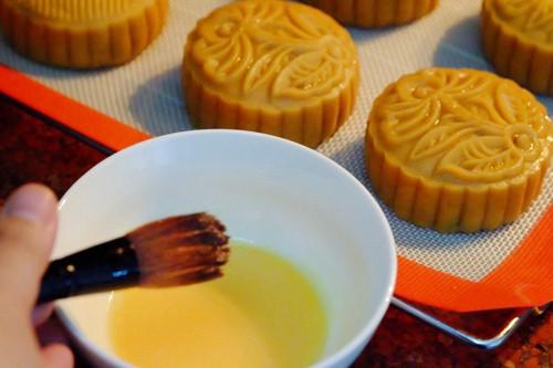Cách làm bánh nướng nhân thập cẩm đón Trung thu - anh 4