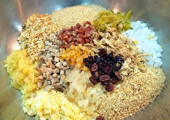 Cách làm bánh nướng nhân thập cẩm đón Trung thu - anh 7