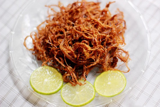 Cách làm thịt bò khô bằng thịt lợn nhâm nhi ngày lạnh - anh 2