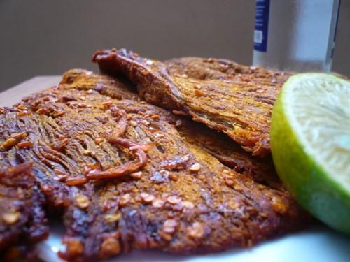 Cách làm thịt bò khô bằng thịt lợn nhâm nhi ngày lạnh - anh 3