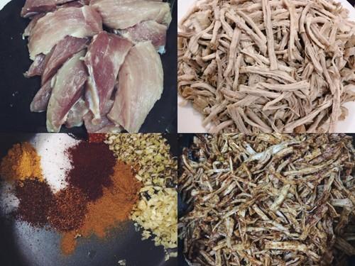 Cách làm thịt bò khô bằng thịt lợn nhâm nhi ngày lạnh - anh 1
