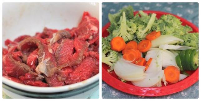 Thịt bò sốt đậu phụ non đưa cơm ngày lạnh - anh 1