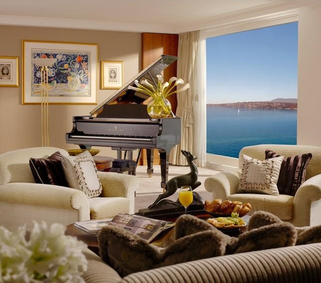 Bên trong phòng khách sạn có giá gần 2 tỷ đồng/ đêm - anh 8