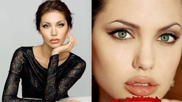 """Màn """"phù phép"""" siêu mẫu Việt Nam thành sao hollywood Angelina Jolie - anh 2"""
