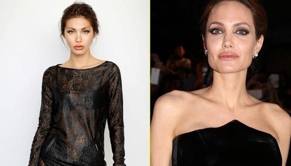 """Màn """"phù phép"""" siêu mẫu Việt Nam thành sao hollywood Angelina Jolie - anh 3"""
