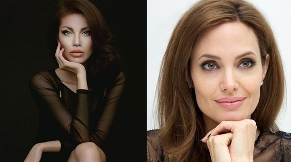 """Màn """"phù phép"""" siêu mẫu Việt Nam thành sao hollywood Angelina Jolie - anh 4"""